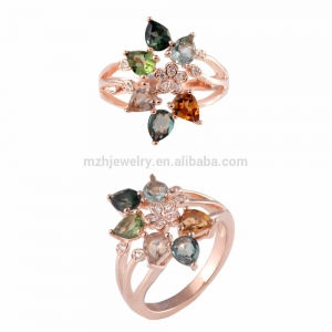 Tourmaline  Gemstone Ring